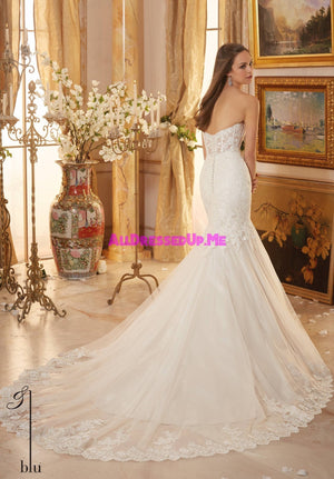 Blu - 5475 - All Dressed Up, Bridal Gown - Morilee - - Wedding Gowns Dresses Chattanooga Hixson Shops Boutiques Tennessee TN Georgia GA MSRP Lowest Prices Sale Discount