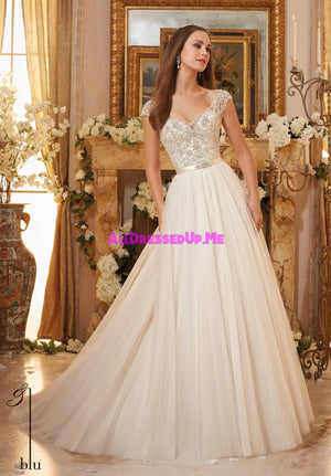 Blu - 5476 - All Dressed Up, Bridal Gown - Morilee - - Wedding Gowns Dresses Chattanooga Hixson Shops Boutiques Tennessee TN Georgia GA MSRP Lowest Prices Sale Discount