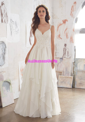 Blu - Mary - 5512 - Cheron's Bridal, Wedding Gown - Morilee - - Wedding Gowns Dresses Chattanooga Hixson Shops Boutiques Tennessee TN Georgia GA MSRP Lowest Prices Sale Discount