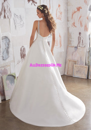 Blu - Maxine - 5516 - All Dressed Up, Bridal Gown - Morilee - - Wedding Gowns Dresses Chattanooga Hixson Shops Boutiques Tennessee TN Georgia GA MSRP Lowest Prices Sale Discount