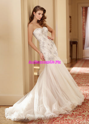 David Tutera - 217204 - Zella - All Dressed Up, Bridal Gown - Mon Cheri - - Wedding Gowns Dresses Chattanooga Hixson Shops Boutiques Tennessee TN Georgia GA MSRP Lowest Prices Sale Discount