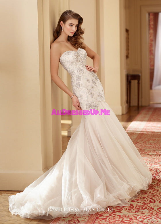 David Tutera - 217204W - Zella - All Dressed Up, Bridal Gown - Mon Cheri - - Wedding Gowns Dresses Chattanooga Hixson Shops Boutiques Tennessee TN Georgia GA MSRP Lowest Prices Sale Discount