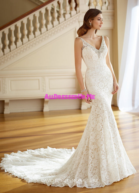David Tutera - 217205 - Pearl - All Dressed Up, Bridal Gown - Mon Cheri - - Wedding Gowns Dresses Chattanooga Hixson Shops Boutiques Tennessee TN Georgia GA MSRP Lowest Prices Sale Discount