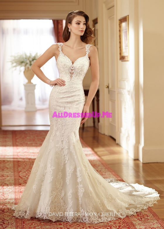 David Tutera - 217206W - Susie - All Dressed Up, Bridal Gown - Mon Cheri - - Wedding Gowns Dresses Chattanooga Hixson Shops Boutiques Tennessee TN Georgia GA MSRP Lowest Prices Sale Discount