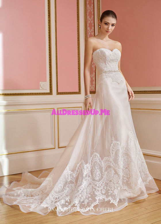 David Tutera - 217207 - Hallie - All Dressed Up, Bridal Gown - Mon Cheri - - Wedding Gowns Dresses Chattanooga Hixson Shops Boutiques Tennessee TN Georgia GA MSRP Lowest Prices Sale Discount