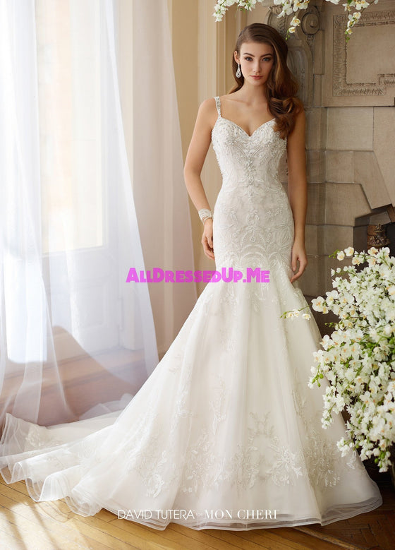 David Tutera - 217208W - Bess - All Dressed Up, Bridal Gown - Mon Cheri - - Wedding Gowns Dresses Chattanooga Hixson Shops Boutiques Tennessee TN Georgia GA MSRP Lowest Prices Sale Discount