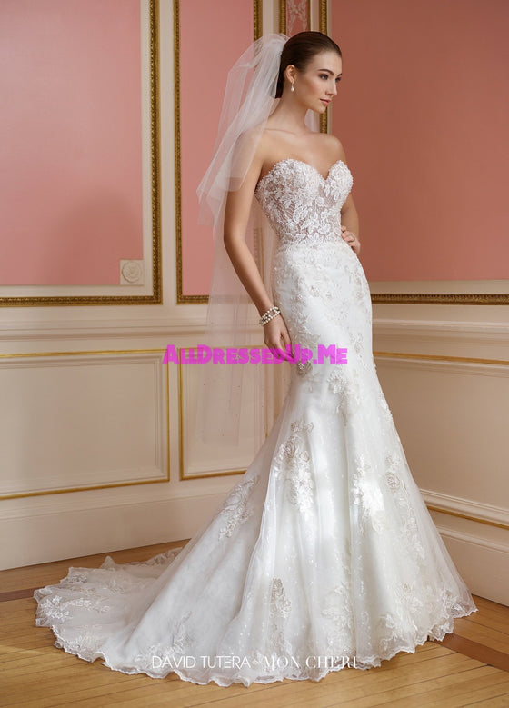 David Tutera - 217209 - Vada - All Dressed Up, Bridal Gown - Mon Cheri - - Wedding Gowns Dresses Chattanooga Hixson Shops Boutiques Tennessee TN Georgia GA MSRP Lowest Prices Sale Discount