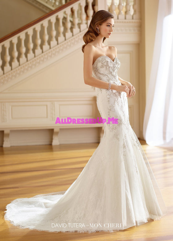 David Tutera - 217211 - Ruth - All Dressed Up, Bridal Gown - Mon Cheri - - Wedding Gowns Dresses Chattanooga Hixson Shops Boutiques Tennessee TN Georgia GA MSRP Lowest Prices Sale Discount
