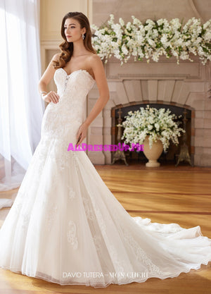 David Tutera - 217226 - Vesta - All Dressed Up, Bridal Gown - Mon Cheri - - Wedding Gowns Dresses Chattanooga Hixson Shops Boutiques Tennessee TN Georgia GA MSRP Lowest Prices Sale Discount