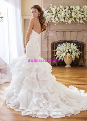David Tutera - 217227W - Inez - All Dressed Up, Bridal Gown - Mon Cheri - - Wedding Gowns Dresses Chattanooga Hixson Shops Boutiques Tennessee TN Georgia GA MSRP Lowest Prices Sale Discount