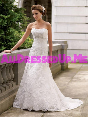 David Tutera - Anita - 113211 - All Dressed Up, Bridal Gown - Mon Cheri - - Wedding Gowns Dresses Chattanooga Hixson Shops Boutiques Tennessee TN Georgia GA MSRP Lowest Prices Sale Discount