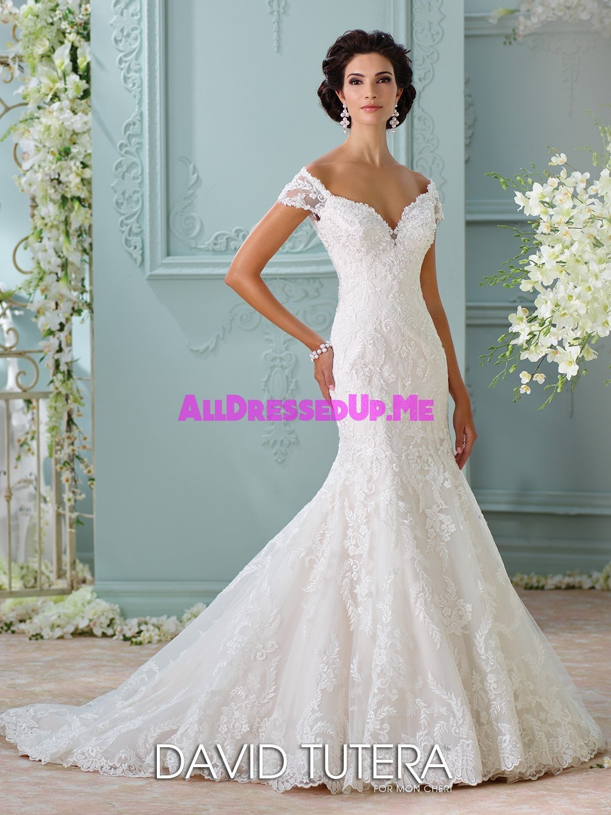 David Tutera - Aura - 116201 - All Dressed Up, Bridal Gown - All ...