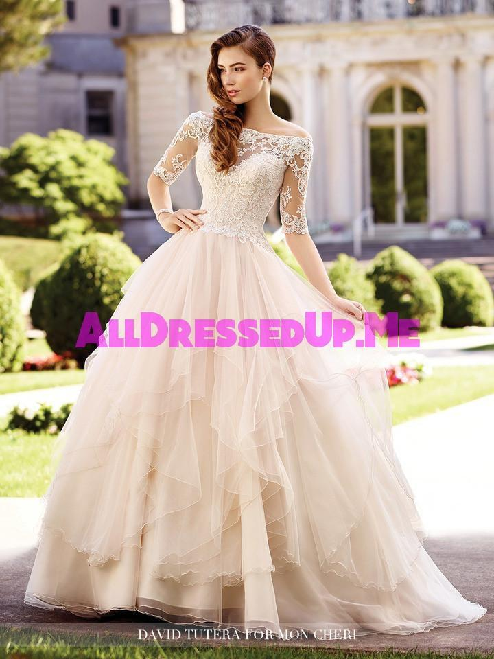 David tutera aurelia 117292 all dressed up bridal for Wedding dresses chattanooga tn