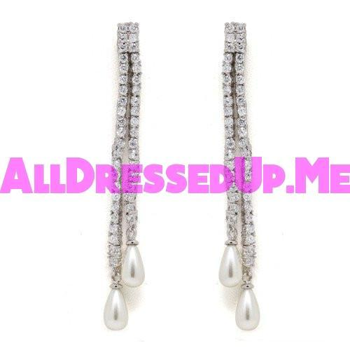 David Tutera Embellish - Alexis Earrings - All Dressed Up, Jewelry - Mon Cheri - - Costume Wedding Bridal Hand Crafted Made Quality Bling Special Occasions Chattanooga Hixson Shops Boutiques Tennessee TN Georgia GA MSRP Lowest Prices Sale Discount