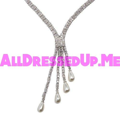 David Tutera Embellish - Alexis Necklace - All Dressed Up, Jewelry - Mon Cheri - - Costume Wedding Bridal Hand Crafted Made Quality Bling Special Occasions Chattanooga Hixson Shops Boutiques Tennessee TN Georgia GA MSRP Lowest Prices Sale Discount