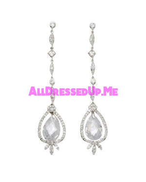David Tutera Embellish - Angela Earrings - All Dressed Up, Jewelry - Mon Cheri - - Costume Wedding Bridal Hand Crafted Made Quality Bling Special Occasions Chattanooga Hixson Shops Boutiques Tennessee TN Georgia GA MSRP Lowest Prices Sale Discount
