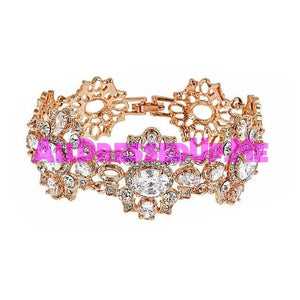 David Tutera Embellish - Cassidy Bracelet - All Dressed Up, Jewelry - Mon Cheri - - Costume Wedding Bridal Hand Crafted Made Quality Bling Special Occasions Chattanooga Hixson Shops Boutiques Tennessee TN Georgia GA MSRP Lowest Prices Sale Discount
