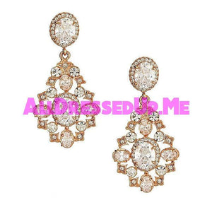 David Tutera Embellish - Cassidy Earrings - All Dressed Up, Jewelry - Mon Cheri - - Costume Wedding Bridal Hand Crafted Made Quality Bling Special Occasions Chattanooga Hixson Shops Boutiques Tennessee TN Georgia GA MSRP Lowest Prices Sale Discount