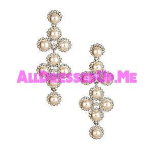 David Tutera Embellish - Charlotte Earrings - All Dressed Up, Jewelry - Mon Cheri - - Costume Wedding Bridal Hand Crafted Made Quality Bling Special Occasions Chattanooga Hixson Shops Boutiques Tennessee TN Georgia GA MSRP Lowest Prices Sale Discount