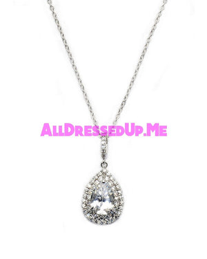 David Tutera Embellish - Claire Pendant - All Dressed Up, Jewelry - Mon Cheri - - Costume Wedding Bridal Hand Crafted Made Quality Bling Special Occasions Chattanooga Hixson Shops Boutiques Tennessee TN Georgia GA MSRP Lowest Prices Sale Discount