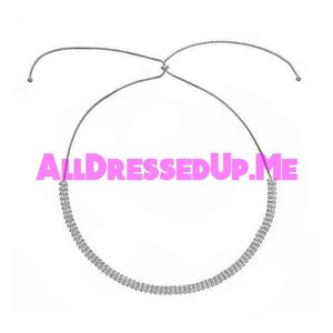 David Tutera Embellish - Diana Headband & Necklace - All Dressed Up, Jewelry - Mon Cheri - - Costume Wedding Bridal Hand Crafted Made Quality Bling Special Occasions Chattanooga Hixson Shops Boutiques Tennessee TN Georgia GA MSRP Lowest Prices Sale Discount