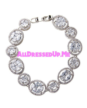David Tutera Embellish - Elizabeth Bracelet - All Dressed Up, Jewelry - Mon Cheri - - Costume Wedding Bridal Hand Crafted Made Quality Bling Special Occasions Chattanooga Hixson Shops Boutiques Tennessee TN Georgia GA MSRP Lowest Prices Sale Discount