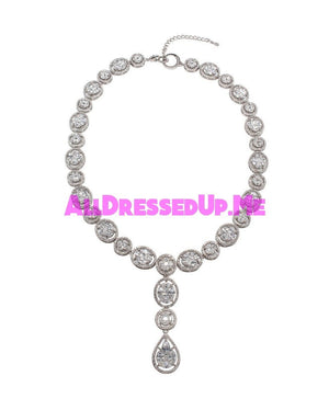 David Tutera Embellish - Elizabeth Classic Necklace - All Dressed Up, Jewelry - Mon Cheri - - Costume Wedding Bridal Hand Crafted Made Quality Bling Special Occasions Chattanooga Hixson Shops Boutiques Tennessee TN Georgia GA MSRP Lowest Prices Sale Discount