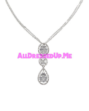 David Tutera Embellish - Elizabeth Pendant - All Dressed Up, Jewelry - Mon Cheri - - Costume Wedding Bridal Hand Crafted Made Quality Bling Special Occasions Chattanooga Hixson Shops Boutiques Tennessee TN Georgia GA MSRP Lowest Prices Sale Discount