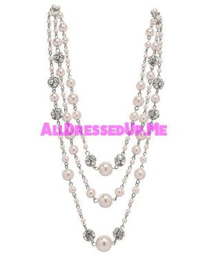 David Tutera Embellish - Gina Necklace - All Dressed Up, Jewelry - Mon Cheri - Pink - Costume Wedding Bridal Hand Crafted Made Quality Bling Special Occasions Chattanooga Hixson Shops Boutiques Tennessee TN Georgia GA MSRP Lowest Prices Sale Discount