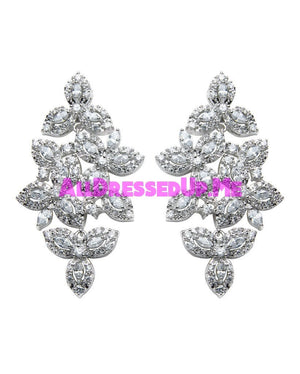 David Tutera Embellish - Isabelle Earrings - All Dressed Up, Jewelry - Mon Cheri - - Costume Wedding Bridal Hand Crafted Made Quality Bling Special Occasions Chattanooga Hixson Shops Boutiques Tennessee TN Georgia GA MSRP Lowest Prices Sale Discount