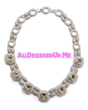 David Tutera Embellish - Jessica Necklace - All Dressed Up, Jewelry - Mon Cheri - - Costume Wedding Bridal Hand Crafted Made Quality Bling Special Occasions Chattanooga Hixson Shops Boutiques Tennessee TN Georgia GA MSRP Lowest Prices Sale Discount
