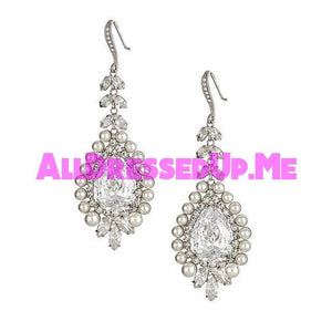David Tutera Embellish - Joan Earrings - All Dressed Up, Jewelry - Mon Cheri - - Costume Wedding Bridal Hand Crafted Made Quality Bling Special Occasions Chattanooga Hixson Shops Boutiques Tennessee TN Georgia GA MSRP Lowest Prices Sale Discount