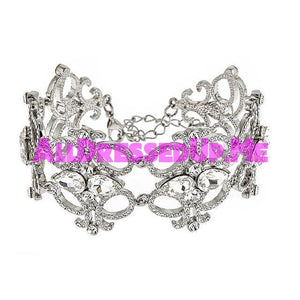 David Tutera Embellish - Josephine Bracelet - All Dressed Up, Jewelry - Mon Cheri - - Costume Wedding Bridal Hand Crafted Made Quality Bling Special Occasions Chattanooga Hixson Shops Boutiques Tennessee TN Georgia GA MSRP Lowest Prices Sale Discount