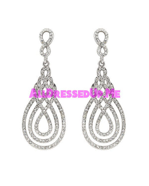 David Tutera Embellish - Juliana Earrings - All Dressed Up, Jewelry - Mon Cheri - - Costume Wedding Bridal Hand Crafted Made Quality Bling Special Occasions Chattanooga Hixson Shops Boutiques Tennessee TN Georgia GA MSRP Lowest Prices Sale Discount
