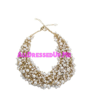 David Tutera Embellish - Kendall Necklace - All Dressed Up, Jewelry - Mon Cheri - Gold - Costume Wedding Bridal Hand Crafted Made Quality Bling Special Occasions Chattanooga Hixson Shops Boutiques Tennessee TN Georgia GA MSRP Lowest Prices Sale Discount