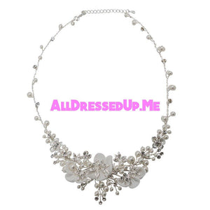 David Tutera Embellish - Lenore Necklace - All Dressed Up, Jewelry - Mon Cheri - - Costume Wedding Bridal Hand Crafted Made Quality Bling Special Occasions Chattanooga Hixson Shops Boutiques Tennessee TN Georgia GA MSRP Lowest Prices Sale Discount