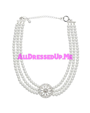David Tutera Embellish - Savannah Choker Necklace - All Dressed Up, Jewelry - Mon Cheri - - Costume Wedding Bridal Hand Crafted Made Quality Bling Special Occasions Chattanooga Hixson Shops Boutiques Tennessee TN Georgia GA MSRP Lowest Prices Sale Discount