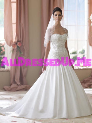 David Tutera - Ethel - 114288 - All Dressed Up, Bridal Gown - Mon Cheri - - Wedding Gowns Dresses Chattanooga Hixson Shops Boutiques Tennessee TN Georgia GA MSRP Lowest Prices Sale Discount