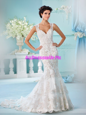 David Tutera - Nerida - 216246 - All Dressed Up, Bridal Gown - Mon Cheri - - Wedding Gowns Dresses Chattanooga Hixson Shops Boutiques Tennessee TN Georgia GA MSRP Lowest Prices Sale Discount