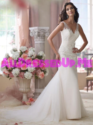 David Tutera - Wilkins - 114284 - All Dressed Up, Bridal Gown - Mon Cheri - - Wedding Gowns Dresses Chattanooga Hixson Shops Boutiques Tennessee TN Georgia GA MSRP Lowest Prices Sale Discount