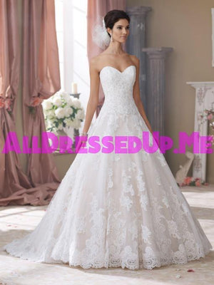 David Tutera - Wyomia - 214206 - All Dressed Up, Bridal Gown - Mon Cheri - - Wedding Gowns Dresses Chattanooga Hixson Shops Boutiques Tennessee TN Georgia GA MSRP Lowest Prices Sale Discount