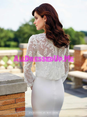 Enchanting - 117183 - All Dressed Up, Bridal Gown - Mon Cheri - - Wedding Gowns Dresses Chattanooga Hixson Shops Boutiques Tennessee TN Georgia GA MSRP Lowest Prices Sale Discount