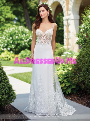 Enchanting - 117191 - All Dressed Up, Bridal Gown - Mon Cheri - - Wedding Gowns Dresses Chattanooga Hixson Shops Boutiques Tennessee TN Georgia GA MSRP Lowest Prices Sale Discount