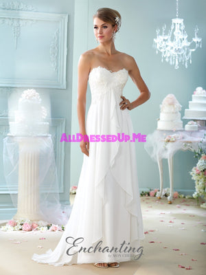 Enchanting - 215108 - All Dressed Up, Bridal Gown - Mon Cheri - - Wedding Gowns Dresses Chattanooga Hixson Shops Boutiques Tennessee TN Georgia GA MSRP Lowest Prices Sale Discount