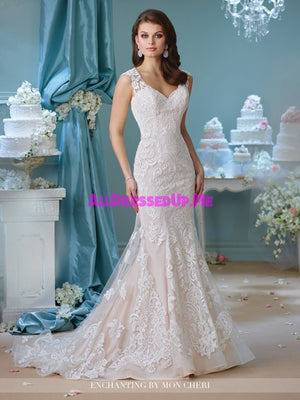 Enchanting - 216151 - All Dressed Up, Bridal Gown - Mon Cheri - - Wedding Gowns Dresses Chattanooga Hixson Shops Boutiques Tennessee TN Georgia GA MSRP Lowest Prices Sale Discount