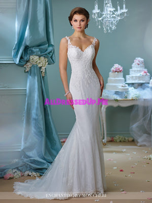 Enchanting - 216157 - All Dressed Up, Bridal Gown - Mon Cheri - - Wedding Gowns Dresses Chattanooga Hixson Shops Boutiques Tennessee TN Georgia GA MSRP Lowest Prices Sale Discount
