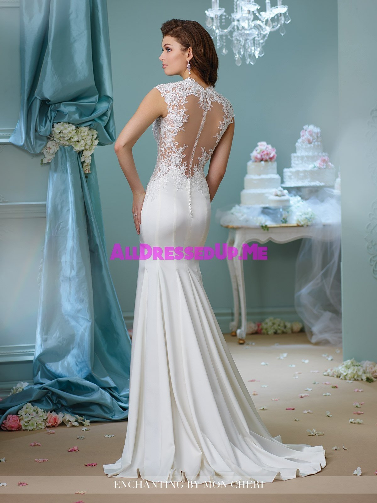 Enchanting 216158 all dressed up bridal gown all for Wedding dresses chattanooga tn