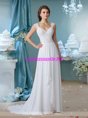 Enchanting - 216160 - All Dressed Up, Bridal Gown - Mon Cheri - - Wedding Gowns Dresses Chattanooga Hixson Shops Boutiques Tennessee TN Georgia GA MSRP Lowest Prices Sale Discount