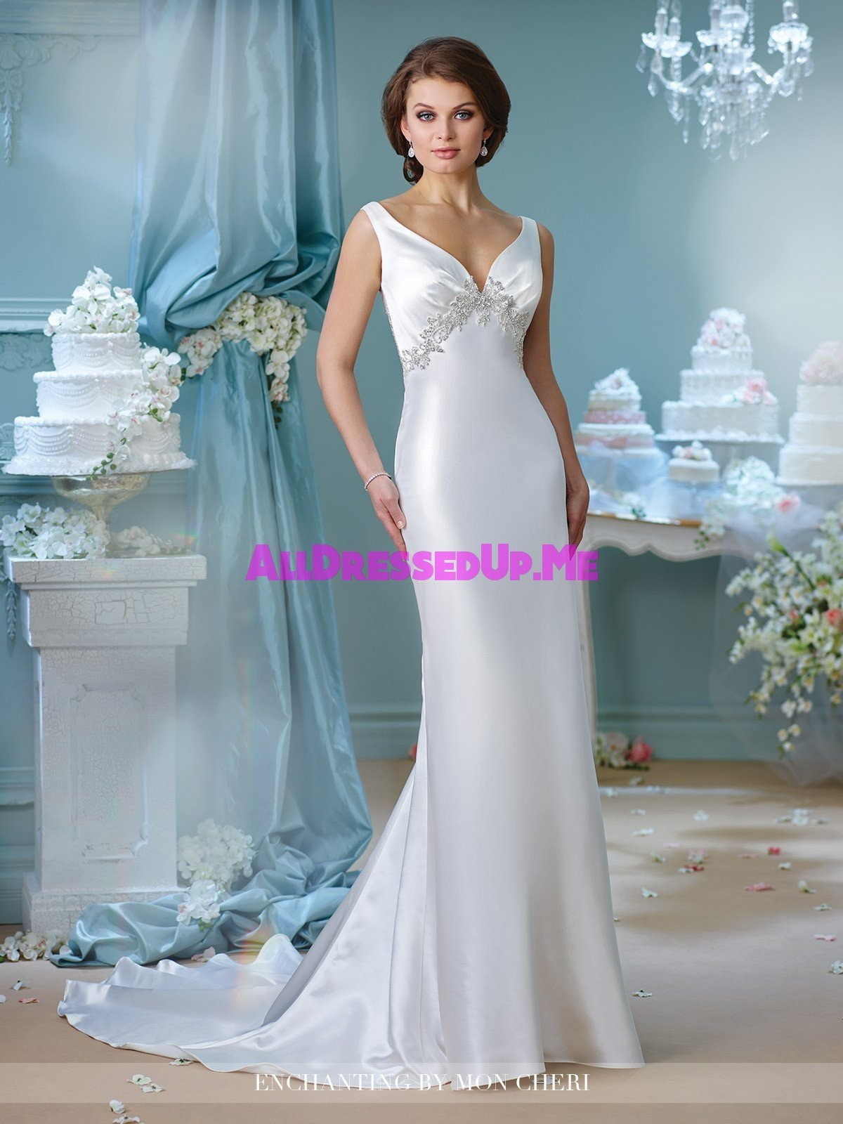 Enchanting - 216165 - All Dressed Up, Bridal Gown - All Dressed Up ...
