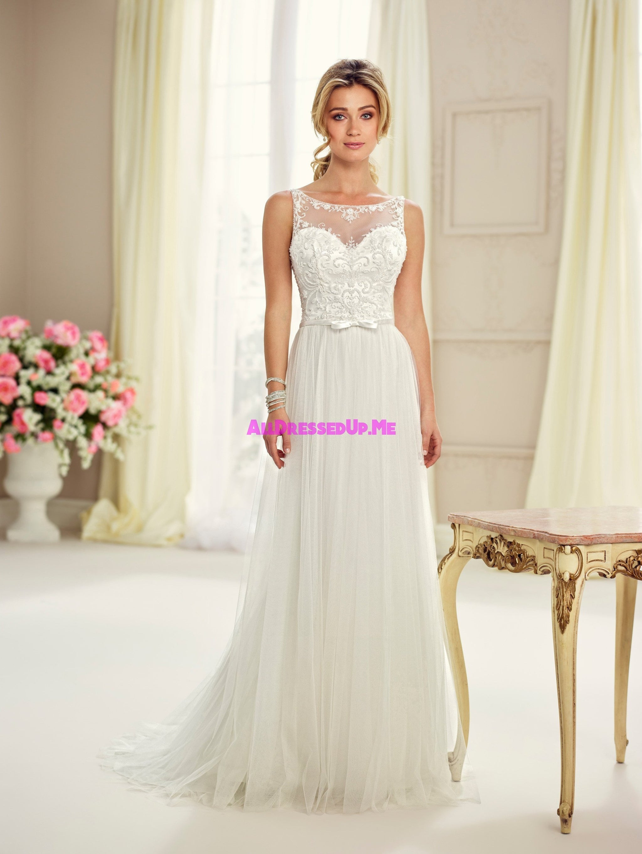 Enchanting 217103 All Dressed Up Bridal Gown All Dressed Up